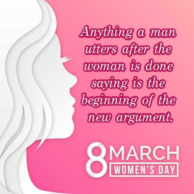 Women's Day Slogans 2021