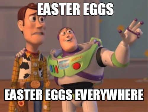 easter egg memes 2021