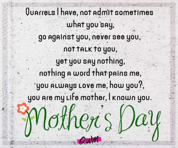 happy mothers day 2021 poem
