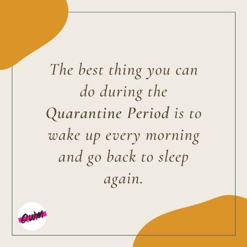 Motivational Quarantine Period Quotes