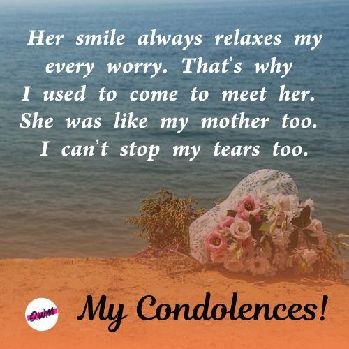 Heartfelt Condolence Wishes For MOM