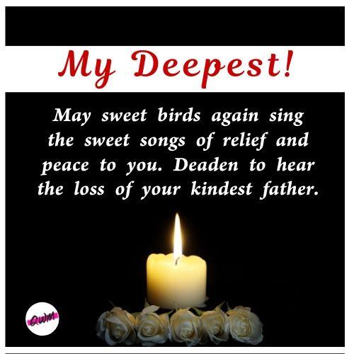 Heartfelt Condolence Messages For Friends Boss Father Mother