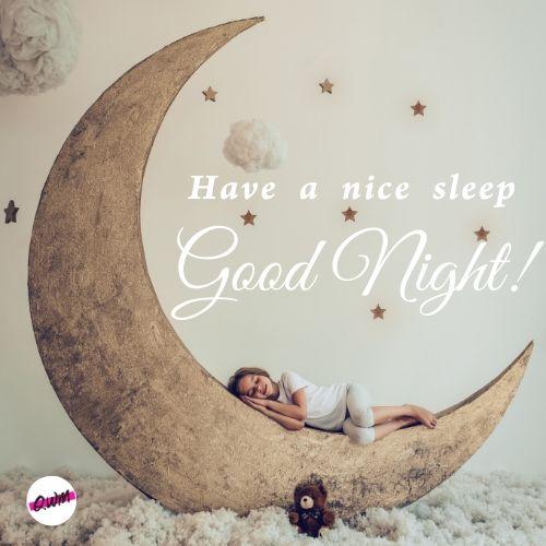 have a nice sleep good night