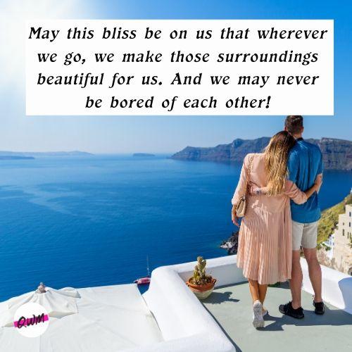 Loveliest Honeymoon Messages