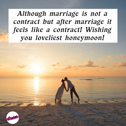 Funny Honeymoon Messages