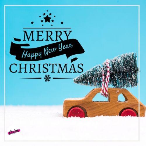 Happy Christmas Tree Image