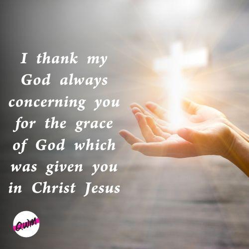 Best Appreciation Verses in The Bible