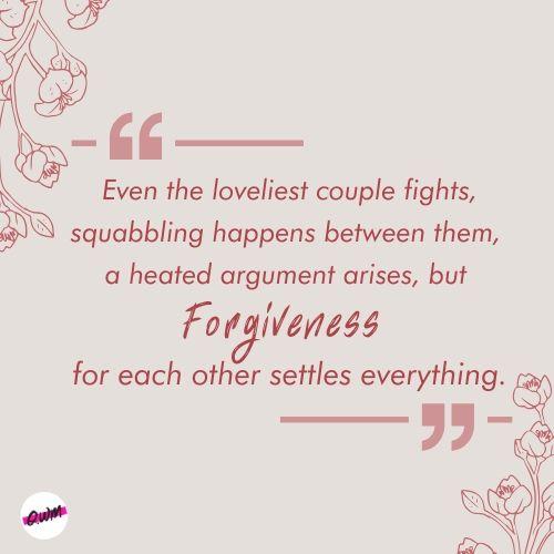 Beautiful Forgiveness Messages