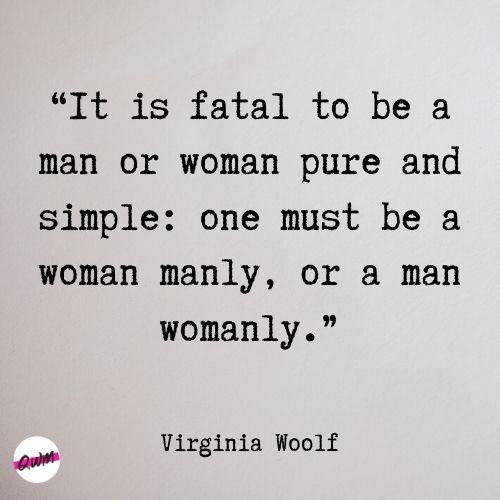 Virginia Woolf Feminism Quotes