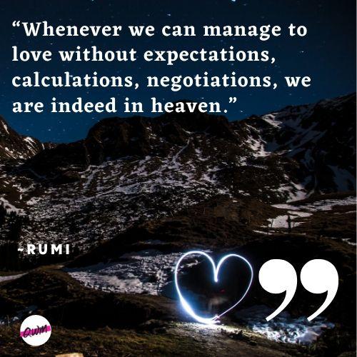 rumi quotes love
