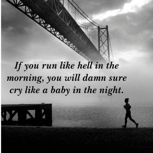 running dream quotes