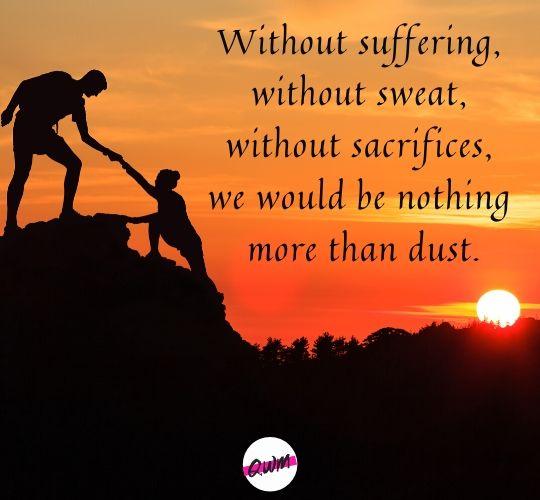 Best Sacrifice Inspirational Quotes