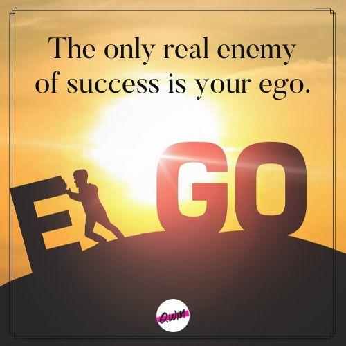 achievement ego quotes