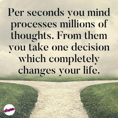 right decision quotes