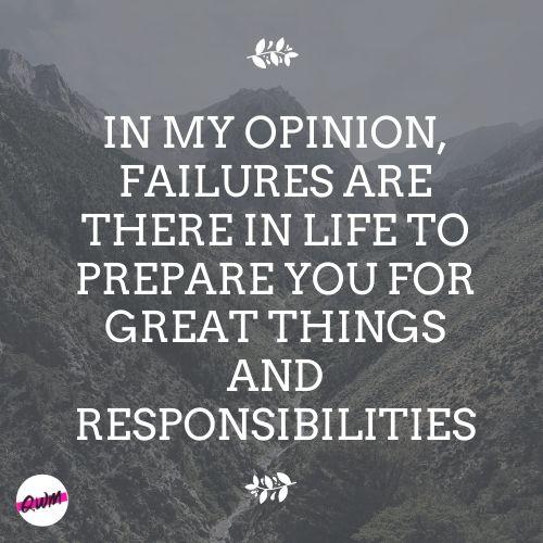 Best Failure Life Quotes