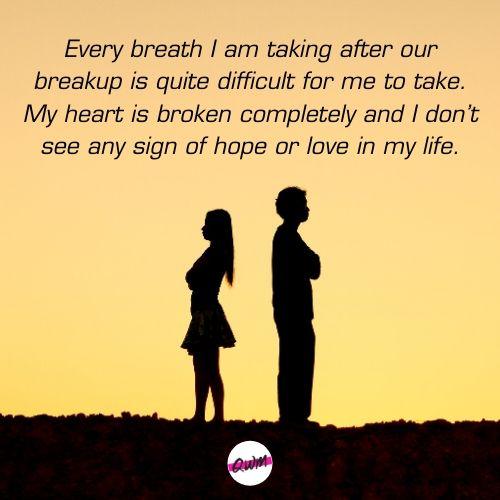 Broken Heart Messages for Her
