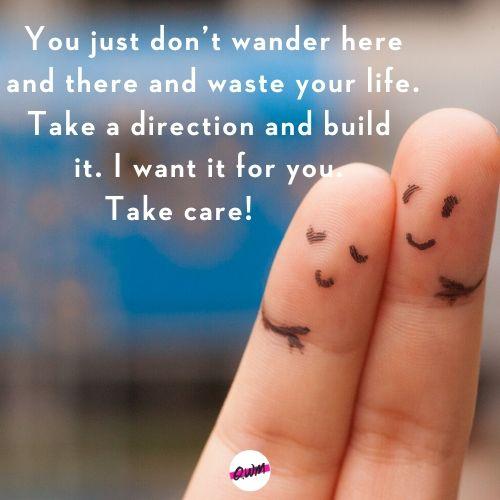 Take Care Message for Boyfriend
