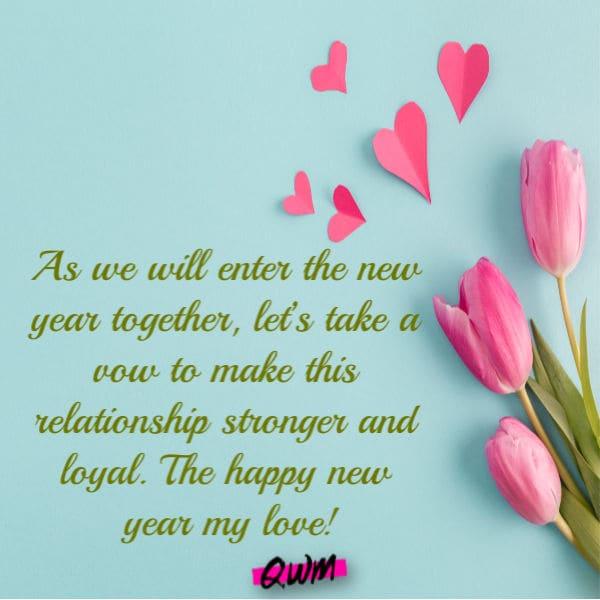 Romantic New Year Status 2022