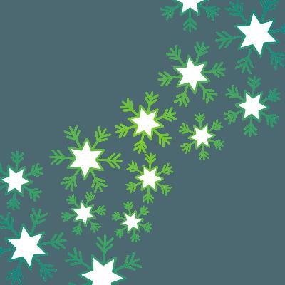Christmas Snow flake clipart