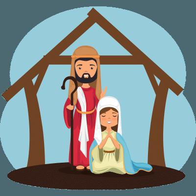 Religious Christmas Clipart