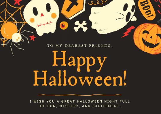 Happy Halloween Friends!