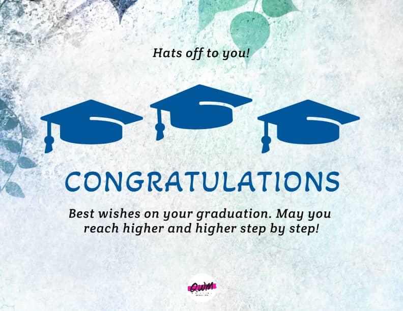 Graduation Congratulations Messages