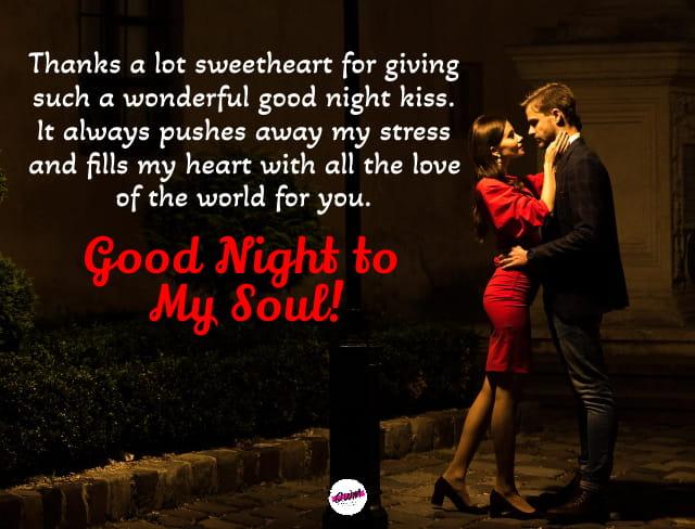 Romantic Good Night Texts for Girlfriend
