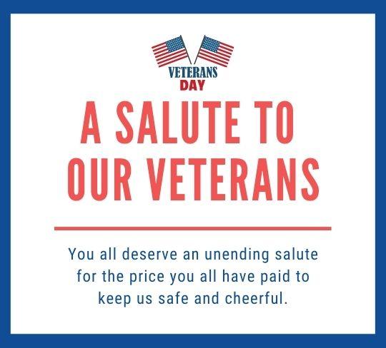 Inspirational Veterans Day Sayings