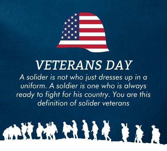 Happy Veterans Day Greetings